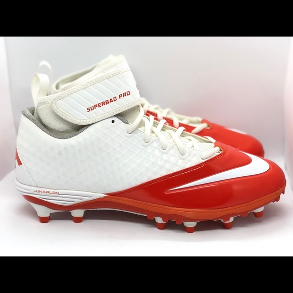 official photos 354d6 f1edf Nike Lunar Superbad Pro TD Football Cleats Sz 12.5